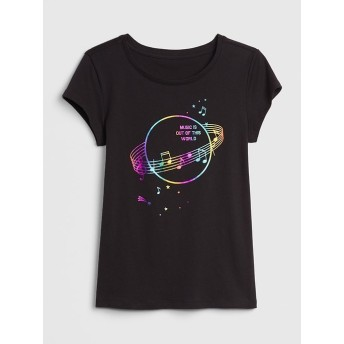 Gap グラフィック半袖Tシャツ (キッズ)