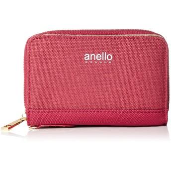 [アネロ グランデ] 折財布 GJ-A0942 CC クラシック杢ポリ 折り財布 レッド
