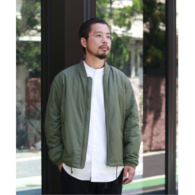 ジャーナルスタンダード 中綿ブルゾン / MA 1 メンズ カーキ L 【JOURNAL STANDARD】