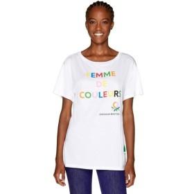 [マルイ]【セール】マルチカラーロゴサイドスリットポイントTシャツ・カットソー/ベネトン レディース(UNITED COLORS OF BENETTON)