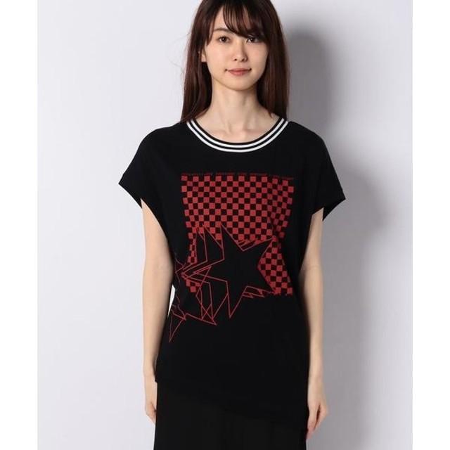 [マルイ] ネックボーダーアシメプリントフレンチTシャツ・カットソー/シスレー レディース(SISLEY)