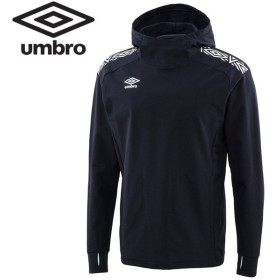 アンブロ サッカー TRフード付きフリースジャケット メンズ UUUOJF36-BLK