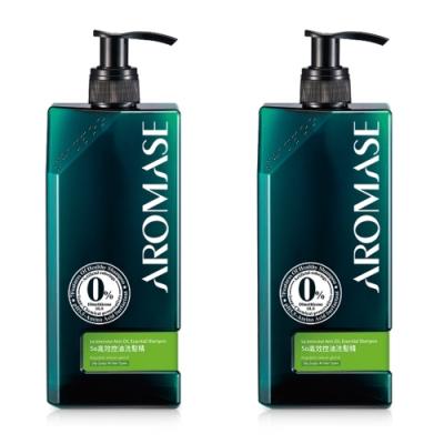 AROMASE艾瑪絲 5α高效控油洗髮精 400ml 2入
