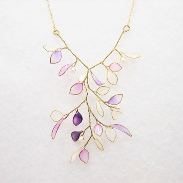 涼しげな晶葉のネックレス