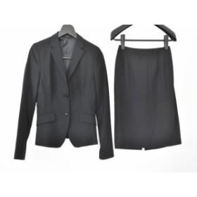 コムサイズム COMME CA ISM スカートスーツ サイズM レディース 美品 黒【中古】20190803