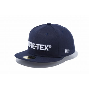 NEW ERA ニューエラ 59FIFTY GORE-TEX (R) ゴアテックス (R) ロゴ ネイビー ニューエラ アウトドア ベースボールキャップ キャップ 帽子 メンズ レディース 7 1/4 (57.7cm) 12108520 NEWERA