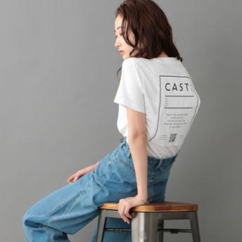 【キャスト(CAST:)】 【おすすめカットソー】StaffTシャツ ホワイト