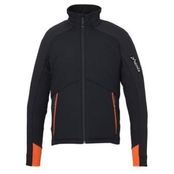 フェニックス PHENIX メンズ コンペ タイプ SKI スキーウェア ジャケット phenix Team Hybrid Fleece Jacket PF972KT07 BK