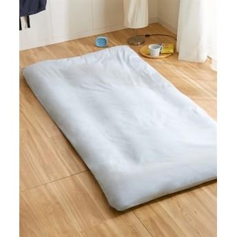 綿100%オックスフォード地敷き布団カバー(フラットタイプ) 敷き布団カバー