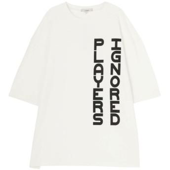 【20%OFF】 コトリカ IGプリントTシャツ メンズ オフホワイト M 【COTORICA.】 【セール開催中】