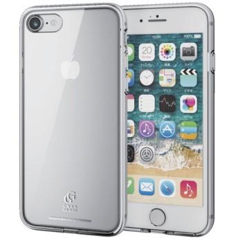 ELECOM PM-A17MHVCG1CR クリア [iPhone 8/ハイブリッドケース/ガラス/スタンダード] ケース・カバー