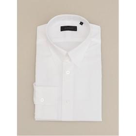 <ダーバン/DURBAN> 【イージーケア】ブロード 無地 タブカラー ドレスシャツ(1608421501) ホワイト 【三越・伊勢丹/公式】