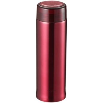 シーエスプリ 軽量スリムパーソナルボトル400(クリアレッド) UE-3406