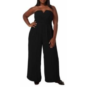 マリープルトワ MAREE POUR TOI レディース オールインワン ワンピース・ドレス The Magic Strapless Jumpsuit Black