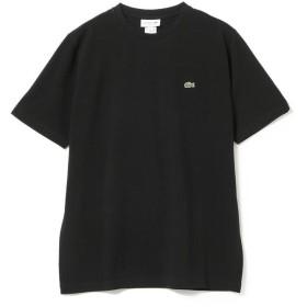 ビームス メン LACOSTE / 鹿の子クルーネックTシャツ メンズ 031_BLACK 3 【BEAMS MEN】