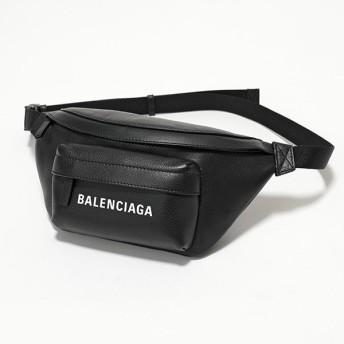 BALENCIAGA バレンシアガ 579617 DLQQN EVERYDAY BELT XS エブリデイ レザー ベルトバッグ ボディバッグ BLACK/WHITE メンズ