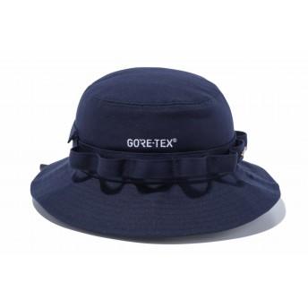 NEW ERA ニューエラ アドベンチャー GORE-TEX (R) ゴアテックス (R) ロゴ ネイビー ニューエラ アウトドア サファリハット アドベンチャーハット アウトドア トレッキング ハット 帽子 メンズ レディース L/XL (61cm) 12108492 NEWERA