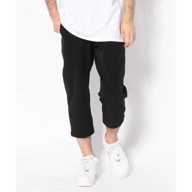 (BEAVER/ビーバー)MANASTASH/マナスタッシュ CAMPER CROPPED PANTS キャンパークロップドパンツ/メンズ BLACK