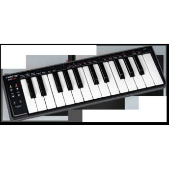 DAW連携MIDIコントローラー 25鍵 ミニ鍵盤 コンパクト コントロールボタン搭載 SE25