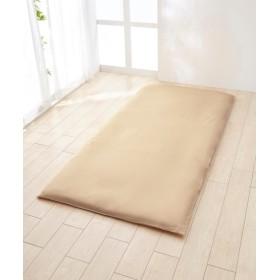選べる7色ソフトリバーシブルカラー 日本製綿100%シルクフィブロイン加工付敷布団カバー(L字ファスナータイプ) 敷き布団カバー
