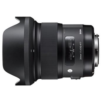 【SIGMA】 交換用レンズ キヤノンEFマウント 24mm F1.4 DG HSM(キヤノン) 交換用レンズ
