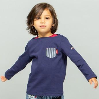 ミキハウス Tシャツ 紺