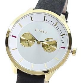 FURLA フルラ 腕時計 レディース R4251102517 METROPOLIS クォーツ ホワイト ブラック