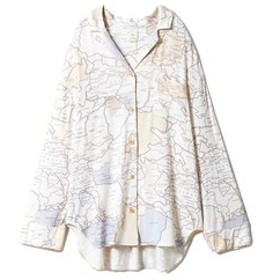 【gelato pique:アンダーウエア・部屋着】MAPシャツ