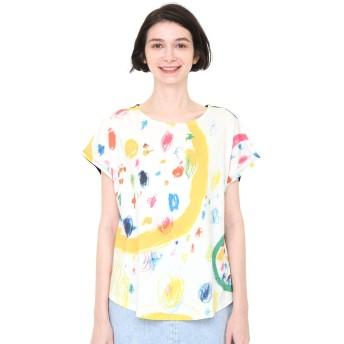 (グラニフ) graniph コラボレーション レディース Tシャツ ぼくらのエコー (荒井良二) (ホワイト) レディース Lady(F) (g14)