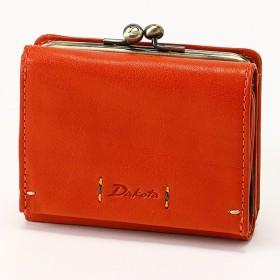 [マルイ] 【新作】Dakota ワンポイントステッチ レザー三つ折り財布/ダコタ(Dakota)