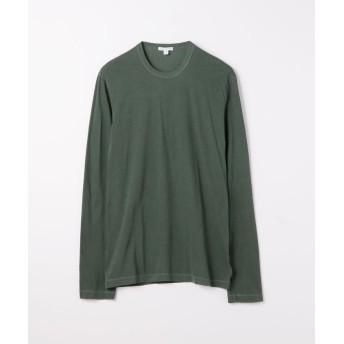 トゥモローランド クルーネック長袖Tシャツ MLJ3351 メンズ 57カーキ 1(M) 【TOMORROWLAND】