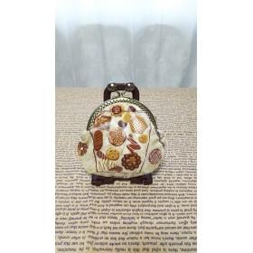◆◇クッキー柄♪ラミネート生地♪がま口財布◇◆