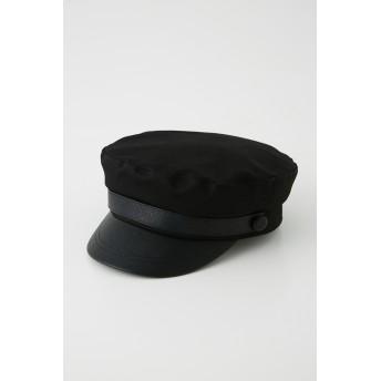 リエンダ rienda cottonキャスケット (ブラック)