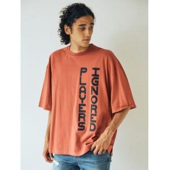【20%OFF】 コトリカ IGプリントTシャツ メンズ ダークオレンジ M 【COTORICA.】 【セール開催中】