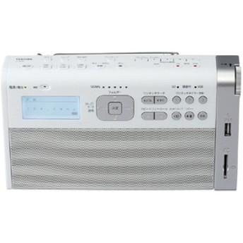 東芝SD/USB/録音ラジオホワイトTY-RHR1(W)