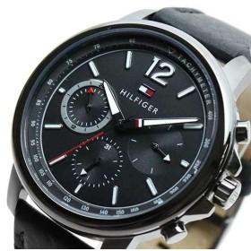 トミーヒルフィガー TOMMY HILFIGER 腕時計 メンズ 1791533 クォーツ ブラック