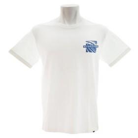 【Super Sports XEBIO & mall店:トップス】バックプリント オーガニックコットン Tシャツ QST184035WHT
