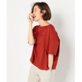 (NOLLEY'S/ノーリーズ)肩落ちボリュームTシャツ/レディース レンガ