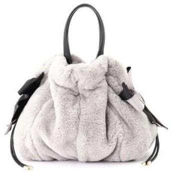 (JILLSTUART/ジルスチュアート)[WEB限定商品] ジュディ巾着バッグ/レディース GRAY 送料無料