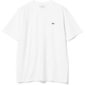 ビームス メン LACOSTE / 鹿の子クルーネックTシャツ メンズ 001_WHITE 4 【BEAMS MEN】