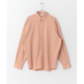 センスオブプレイス ルーズシャツ メンズ PINK L 【SENSE OF PLACE】