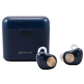 AVIOT 日本のオーディオメーカー Bluetooth イヤホン 完全ワイヤレス TE-D01d   (ネイビー)