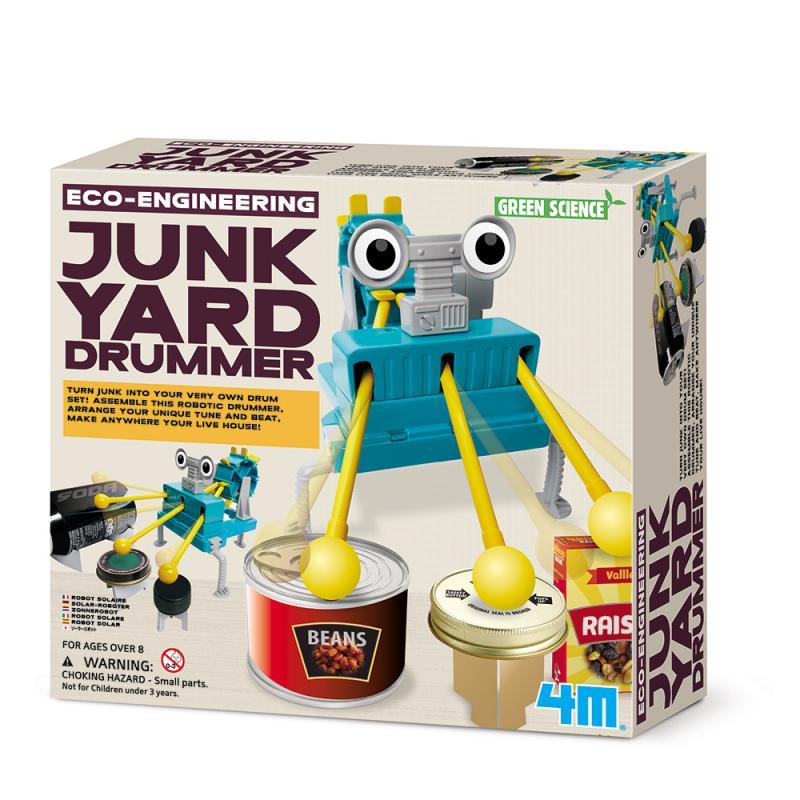 【4M】03372 科學探索系列 - 再生小鼓手 Junkyard Drummer