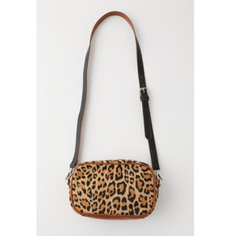 【MOUSSY:バッグ】LEOPARD 2WAY ポーチ