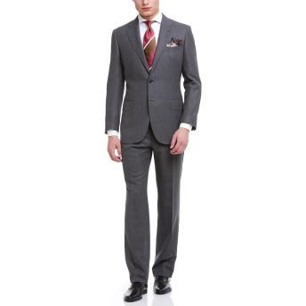 【76%OFF】ノッチドラペル スーツ ダークグレー bb5