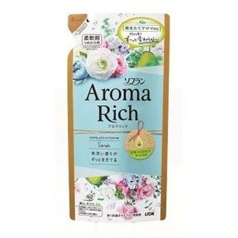 「ライオン」 ソフラン アロマリッチ Sarah (サラ) アクアティックブーケアロマの香り つめかえ用 400mL 「日用品」