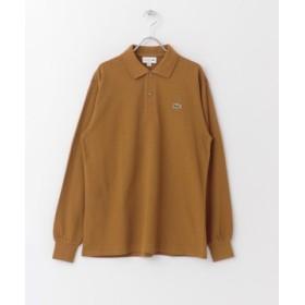 (URBAN RESEARCH DOORS/アーバンリサーチドアーズ)LACOSTE ポロシャツ/メンズ TABAC 送料無料