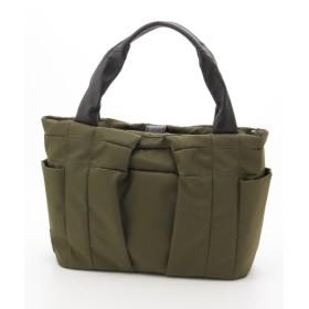30%OFF Y'SACCS(bag) (イザック(バック)) フロントタック2wayトート カーキ