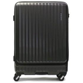 (GALLERIA/ギャレリア)フリクエンター スーツケース FREQUENTER MALIE マーリエ Lサイズ キャリーケース 拡張 86L 7-10泊 1週間 エンドー鞄 1-280/ユニセックス ブラック