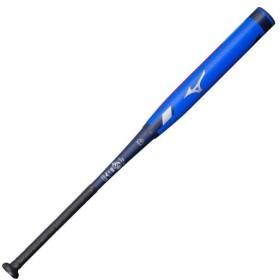 MIZUNO SHOP [ミズノ公式オンラインショップ] ソフトボール用【ミズノプロ】CRBN2(FRP製/84cm/平均690g)(3号革/ゴムボール用) 2714 ブルー×ネイビー 1CJFS1098427